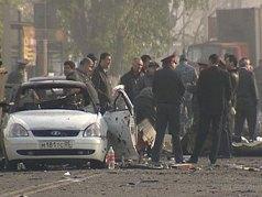 Место взрыва в Махачкале. Фото ИТАР-ТАСС, Башир Алиев