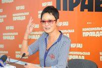 Ирина Хакамада в Омске