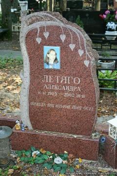 На Троекуровском кладбище... Москва