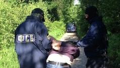 Фото ИЦ НАК. Задержание Давлетбаева сотрудниками ФСБ