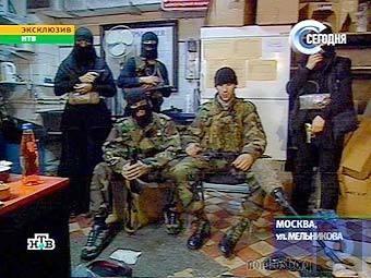Террористы дают интервью