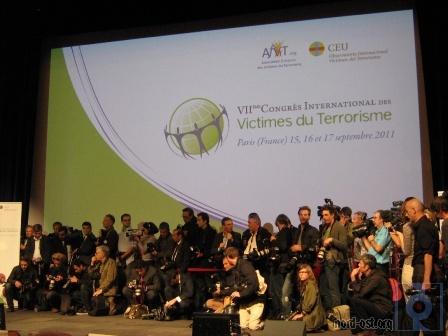 Журналисты фотографируют открытие конгресса